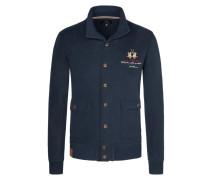 Sweatjacke im Blouson-Stil von La Martina in Marine für Herren