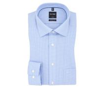Luxor modern fit Hemd, kariert von Olymp in Hellblau für Herren