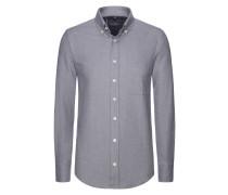 Aktuelles Flanellhemd aus 100% Baumwolle von Tom Rusborg in Silber für Herren