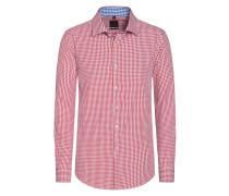 Slim Fit Karo Hemd von Tom in Rot für Herren
