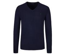 Stilvoller Pullover aus 100% Merinowolle von Polo Ralph Lauren in Marine für Herren