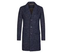 Trendiger Woll-Mix-Mantel von Tom Rusborg in Blau für Herren