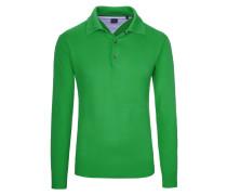Pullover mit Polokragen von Tom Rusborg in Gruen für Herren