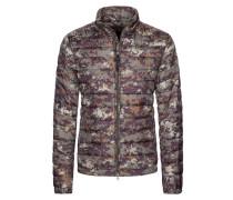 Leichte Daunensteppjacke, Camouflage-Digitaltarn von Woolrich in Oliv für Herren