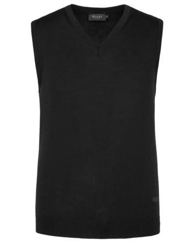 Pullunder, V-Ausschnitt in Schwarz