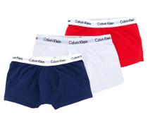 3er Pack Slips von Calvin Klein in Rot für Herren
