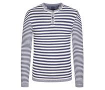 Sweatshirt im Baumwoll-Mix von Tom Rusborg in Blau für Herren