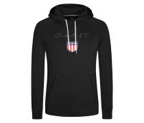 Bequemes Kapuzen-Sweatshirt von Gant in Schwarz für Herren