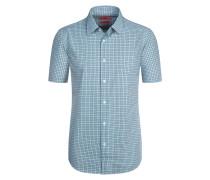 Kurzarmhemd, Regular Fit von Hugo in Gruen für Herren