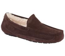 Hausschuhe Loafer Form  Dunkel