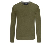 Pullover aus 100% Schurwolle  Gruen