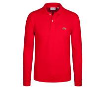 Sweatshirt mit Polokragen von Lacoste in Rot für Herren