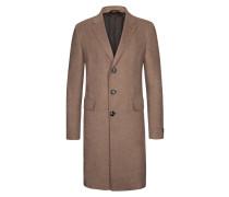 Luxuriöser Mantel im Kaschmir-Mix von Ermenegildo Zegna in Hellbraun für Herren