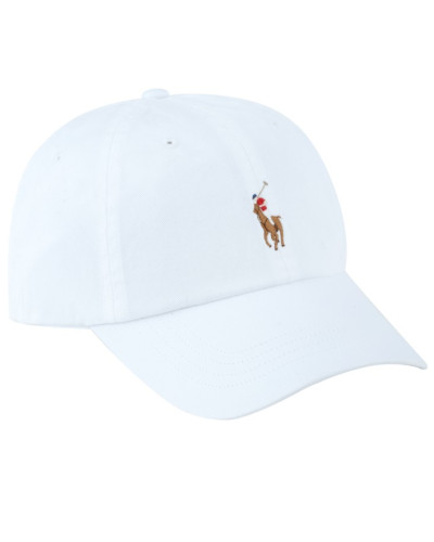 Classic Sport Cap, One-Size in Weiss