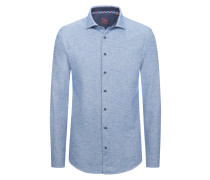 Modisches Flanellhemd aus 100% Baumwolle von Tom in Blau für Herren