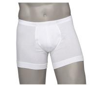 Boxer Shorts, Baumwolle von Zimmerli in Weiss für Herren