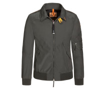 Leichte Jacke mit kontrastierenden Details, Blouson-Form von Parajumpers in Gruen für Herren