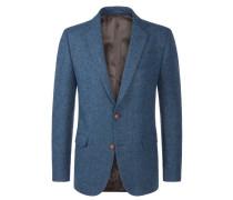 Harris Tweed Sakko mit edlen Details von Tom Rusborg in Blau für Herren