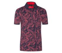 Poloshirt mit Paisley-Muster von Tom in Rot für Herren