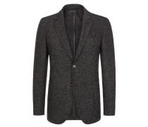 Meliertes Sakko mit aufgesetzten Taschen von Tom Rusborg Premium in Schwarz für Herren