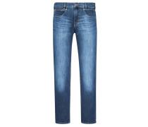 5-Pocket Jeans im Used-Look von Joker in Blau für Herren
