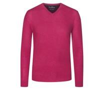 Pullover im Merino-Mix, V-Neck