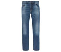 Modisch geschnittene Jeans mit Ziernähten von Gardeur in Blau für Herren