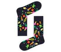 Socken mit Gemüse-Motiv