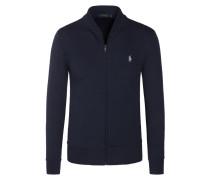 Weiche Sweatjacke in Blouson-Form von Polo Ralph Lauren in Marine für Herren
