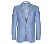 Sakko mit modischer Struktur, Tweed, Loro Piana von Tom Rusborg Premium in Hellblau für Herren