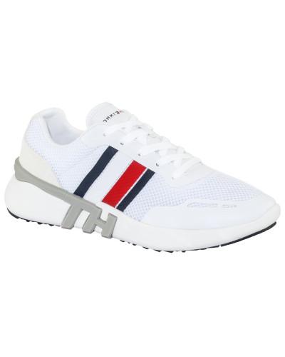 Sneaker in Mesh-Qualität in Weiss