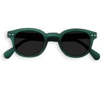 Sonnenbrille, Form C  Gruen