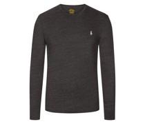 Sweatshirt, Custom Slim Fit Anthrazit