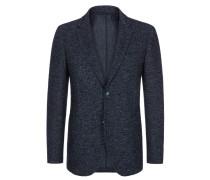 Meliertes Sakko mit aufgesetzten Taschen von Tom Rusborg Premium in Blau für Herren