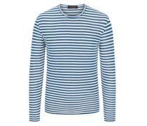 Pullover aus weichem Frottee-Stoff  Hell