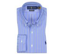 Hemd mit Streifen, Custom Fit