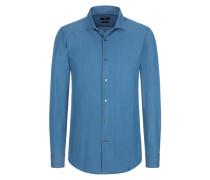 Modisches Slim Fit Hemd, Ridley_F von Boss in Aqua für Herren