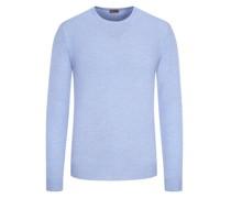 Pullover aus reiner Merino-Wolle  Hell