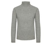 Hochwertiger Rollkragenpullover von Tom Rusborg Premium in Silber für Herren