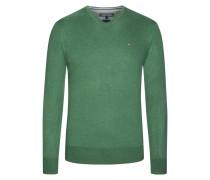 V-Neck Pullover von Tommy Hilfiger in Gruen für Herren
