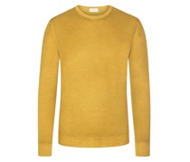 Pullover im Washed-Look, O-Neck