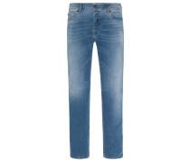 Topmodische Denim-Jeans, Sleenker von Diesel in Hellblau für Herren