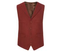 Harris Tweed Weste von Tom Rusborg in Rot für Herren