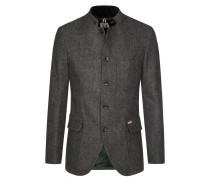 Trachtenjanker in melierter Tweed-Optik von Luis Trenker in Grau für Herren