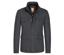 Modische Jacke im Woll-Mix, Ohawke von Boss Orange in Grau für Herren