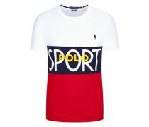T-Shirt mit Frontprint, custom Slim Fit