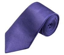 Modisch schmale Krawatte, uni von Olymp in Lila für Herren