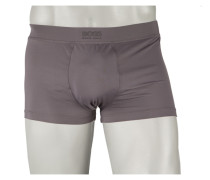 Mikrofaser Retro Boxer Shorts von Boss in Grau für Herren