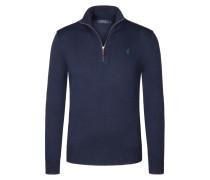Troyerkragen Pullover aus reiner Baumwolle von Polo Ralph Lauren in Marine für Herren