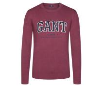 Modischer Pullover von Gant in Bordeaux für Herren